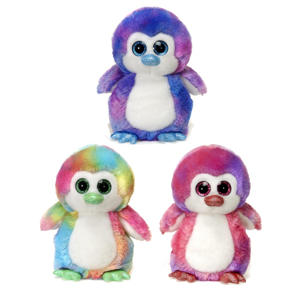 "9"" Colorful Penguins"