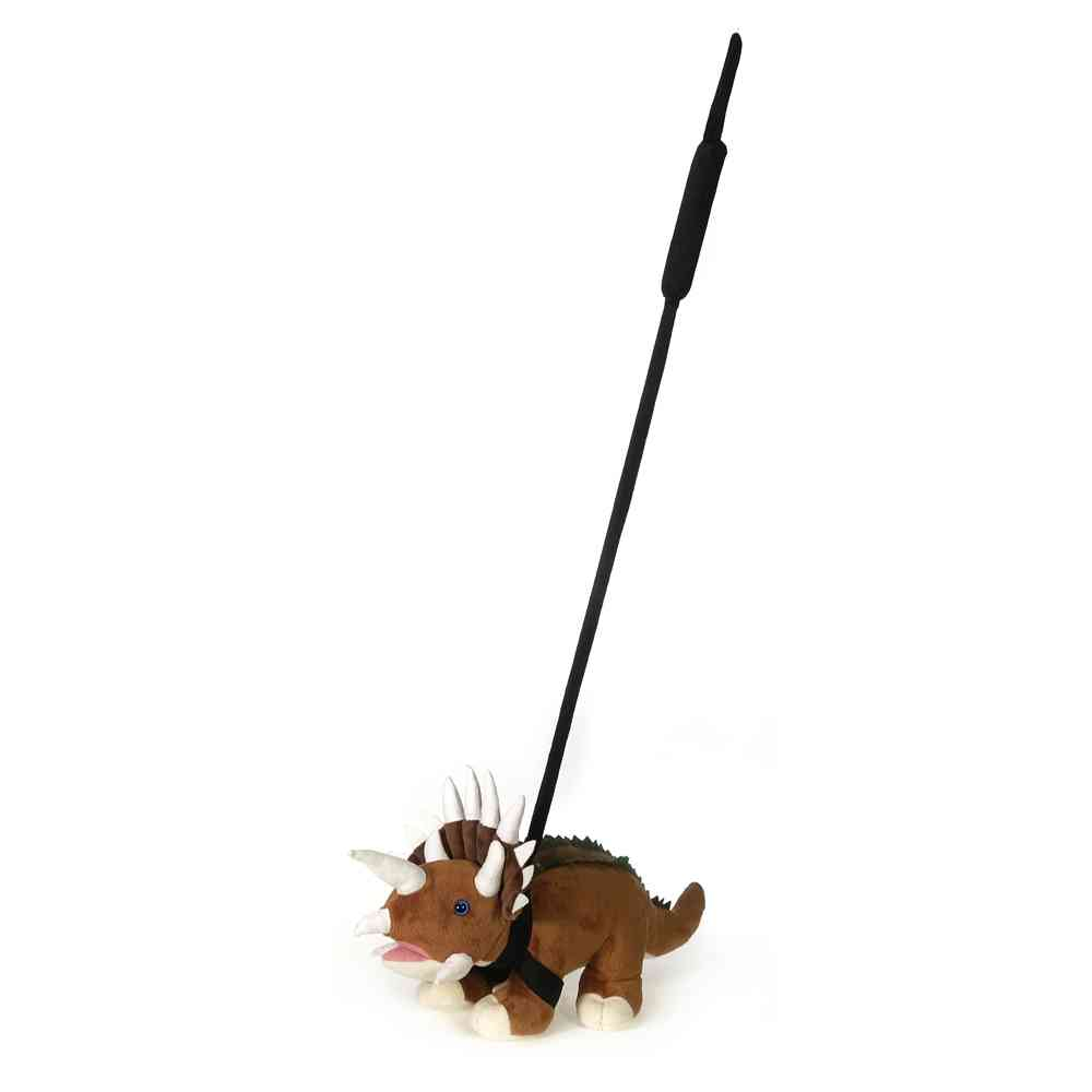 "Walk-Your-Petz 16"" Triceratops"