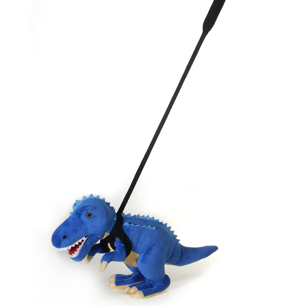 "Walk-Your-Petz 12"" Blue T-Rex"