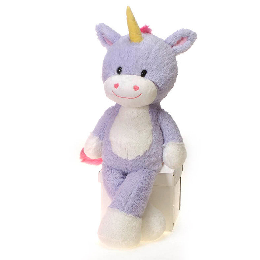 "Fuzzy Folk - Lilly - 16"" Unicorn"