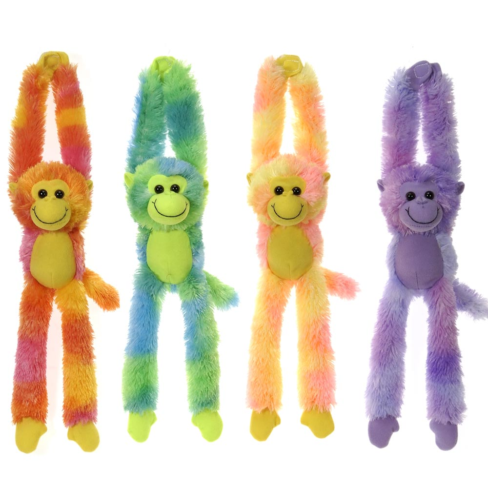 "16"" Tie Dye Long Leg Monkey"