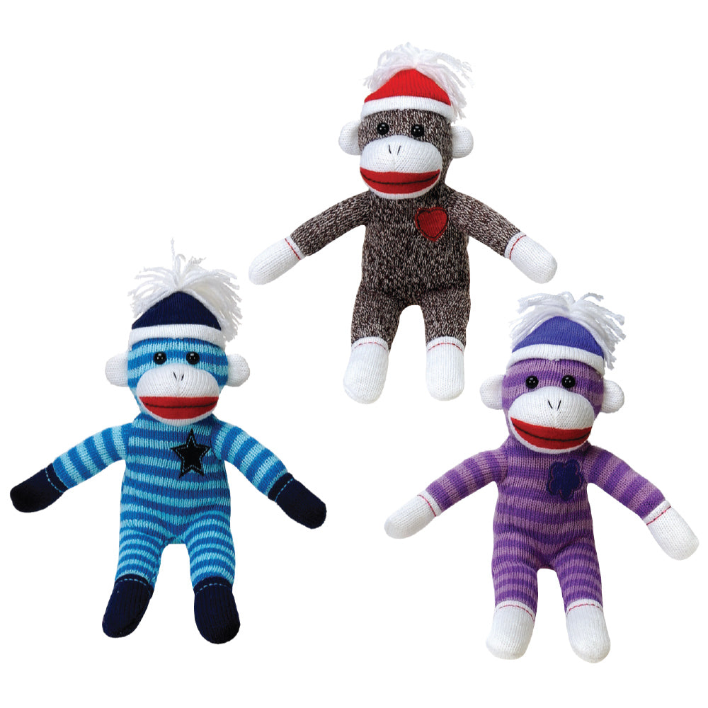 "11"" Cuddle Sock Monkeys"