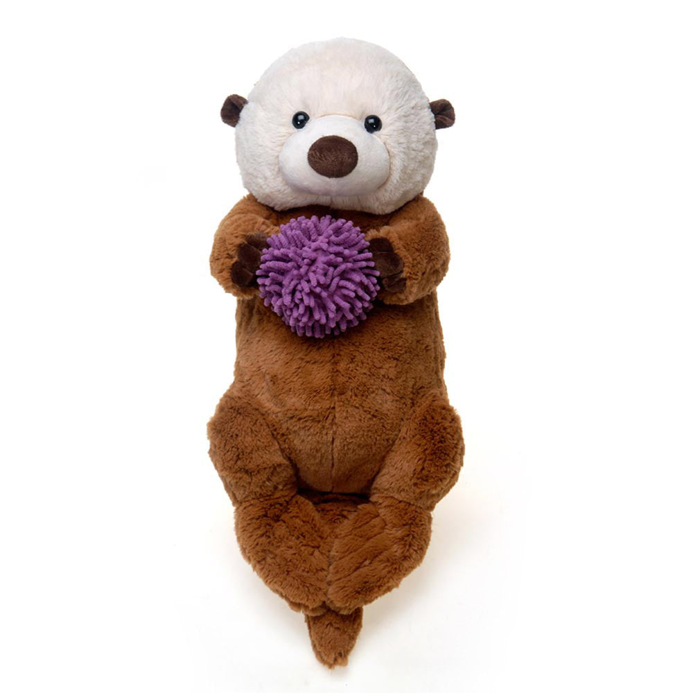 "26"" Sea Otter holding Sea Urchin"