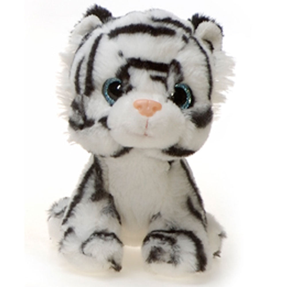 "7"" Windy - Floppy Bean Bag White Tiger"