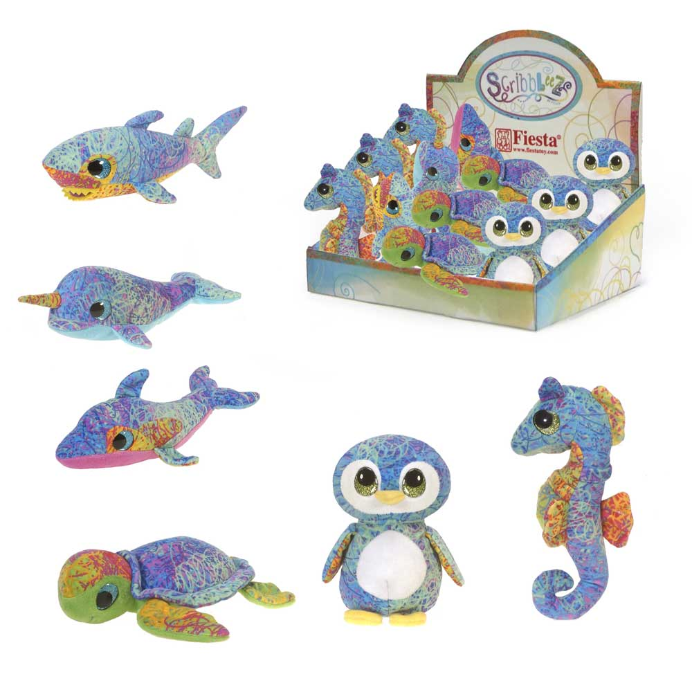 "Scribbleez - 8"" Sea Life Collection"