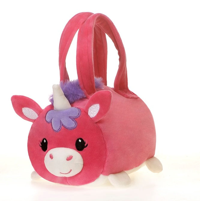 "Lil' Huggy - 8"" Unicorn Purse"