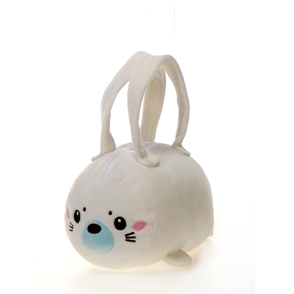 "Lil' Huggy - 8"" Seal Purse"