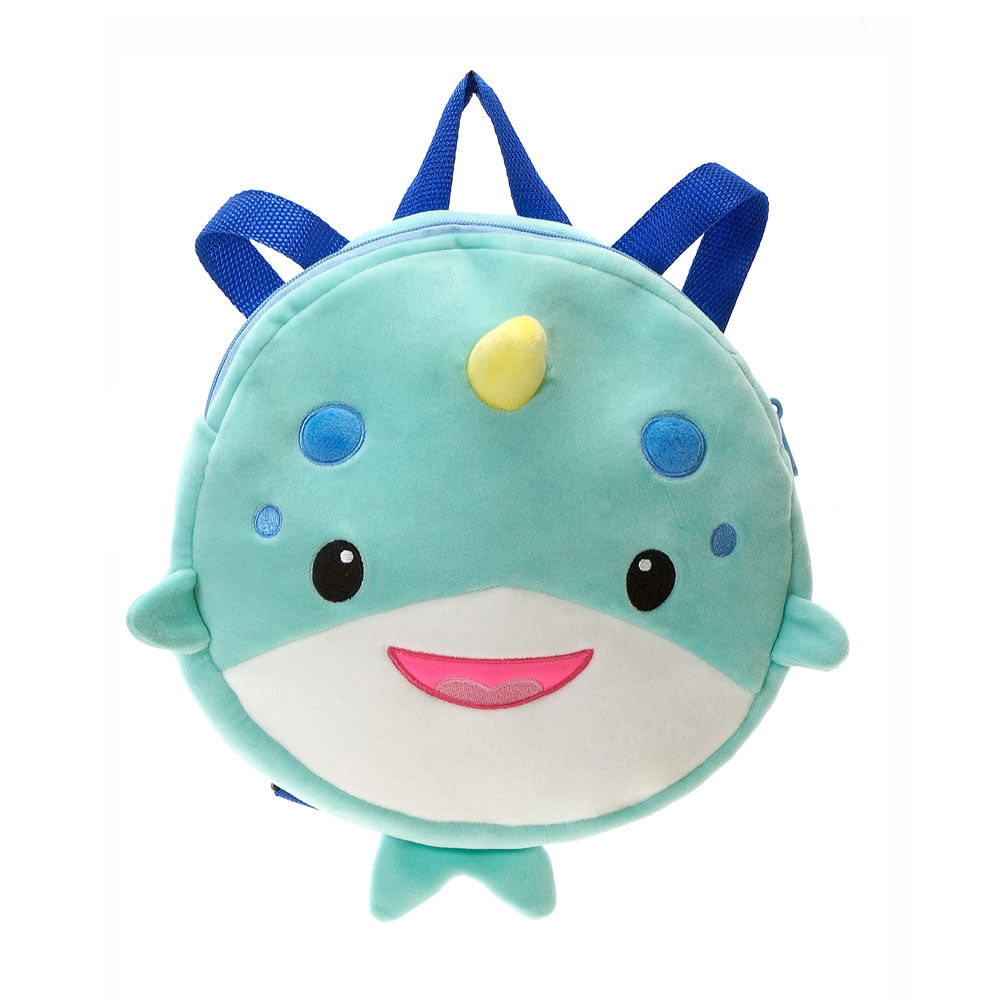 "Lil' Huggy - 11"" Narwhal Backpack"