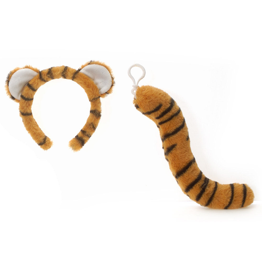 Tiger Ears Headband and Tail