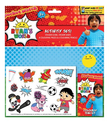 Ryan's World - Activity Set