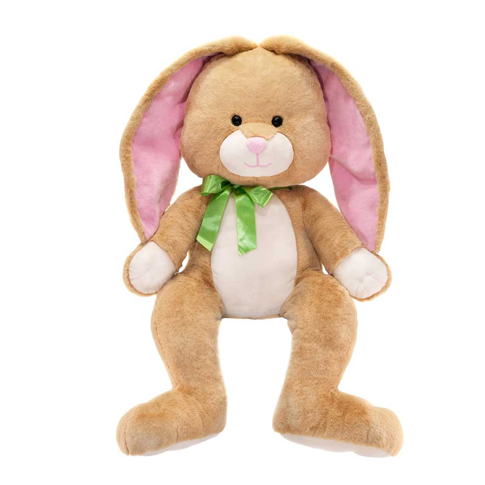 "33"" Brown Long Eared Cuddle Bunny"
