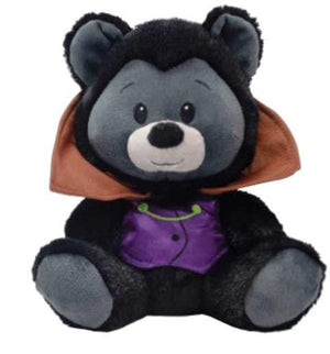 "7.5"" Halloween Disguised bears Witch or Bat"