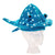 Blue Polka Dot Stingray Hat