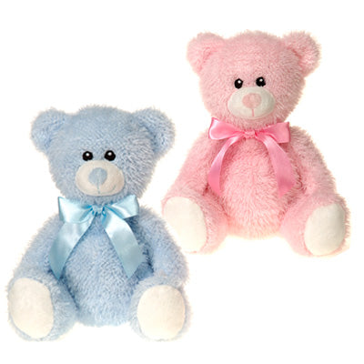 "9"" Bears with Ribbon"