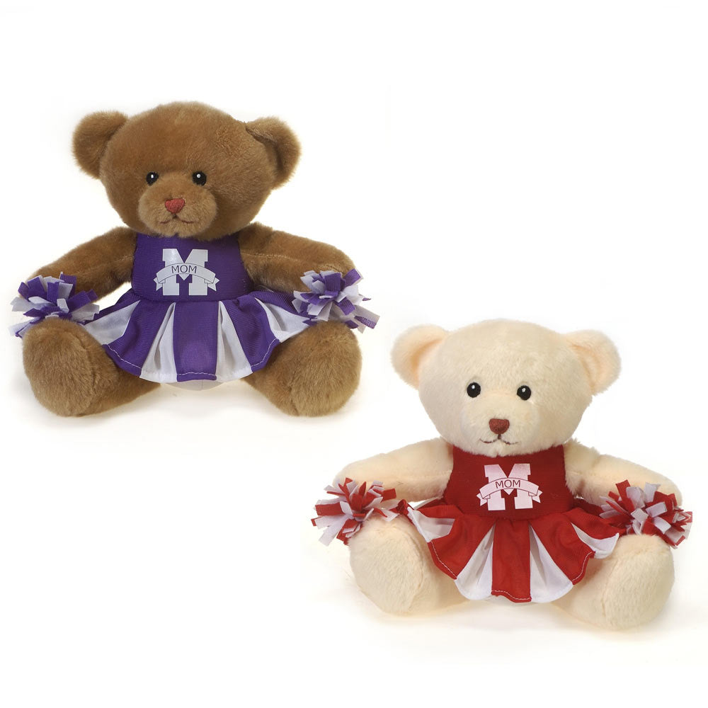 "8"" Mother's Day Cheerleader Bears"