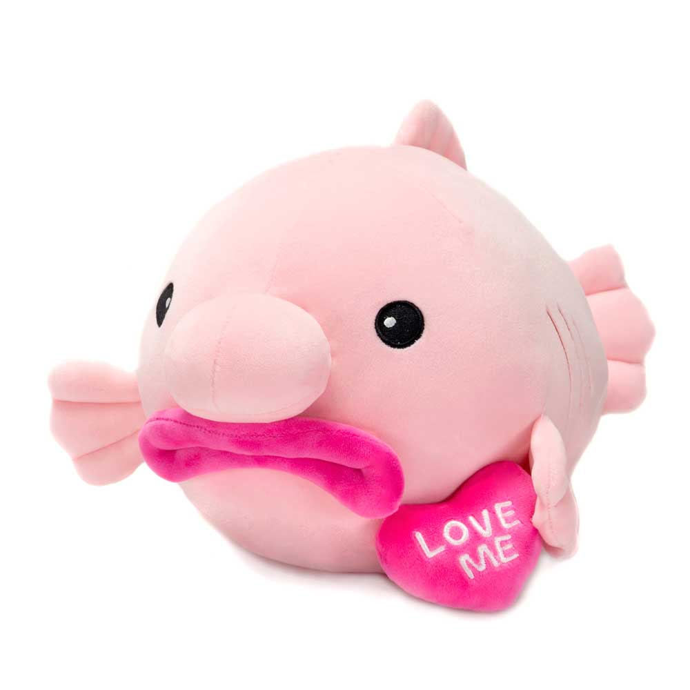 "14.5"" Blob Fish with ""Love Me"" Heart"