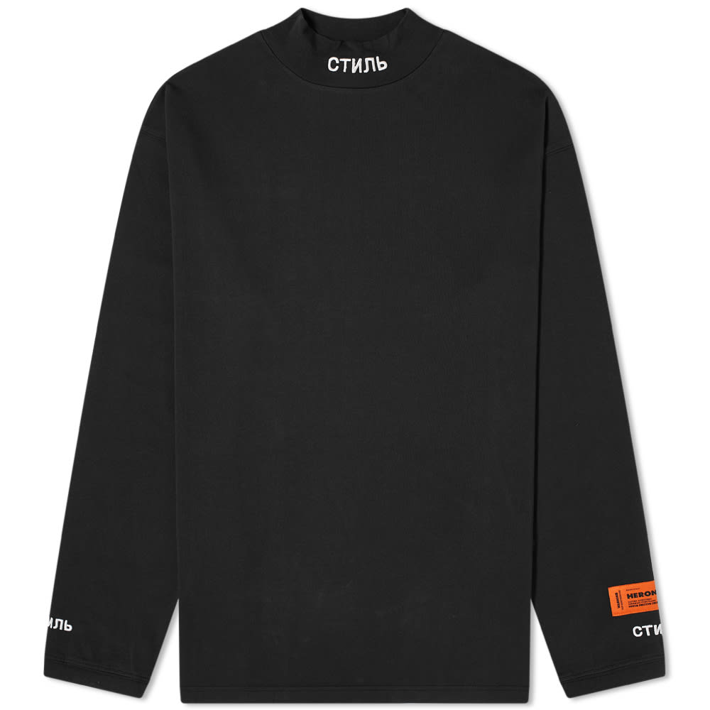 Heron Preston x CTNNB Long Sleeve Tee Black