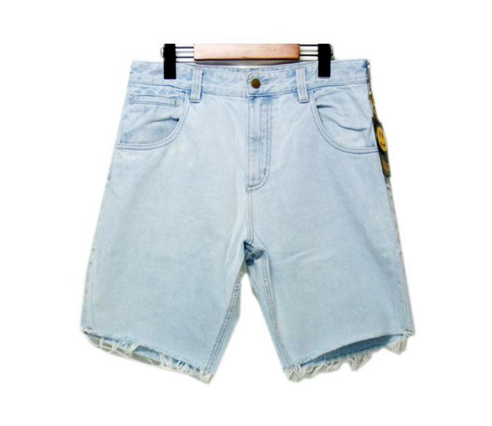 Drew Mascot Denim Shorts