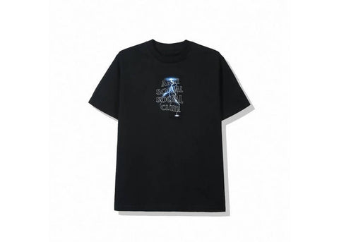 Anti Social Social Club Twister Tee (FW19) Black