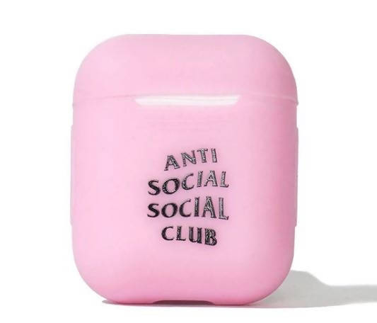 Anti Social Social Club Lost And Found Pink Airpod Case (FW19)