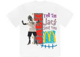 Travis Scott x McDonald's Jack Smile II T-Shirt White