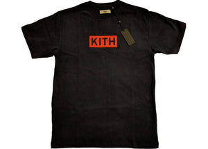 Kith Classic Logo Tee Navy/Red