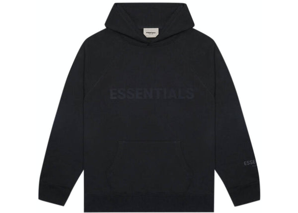 Essentials Black on Black Hoodie