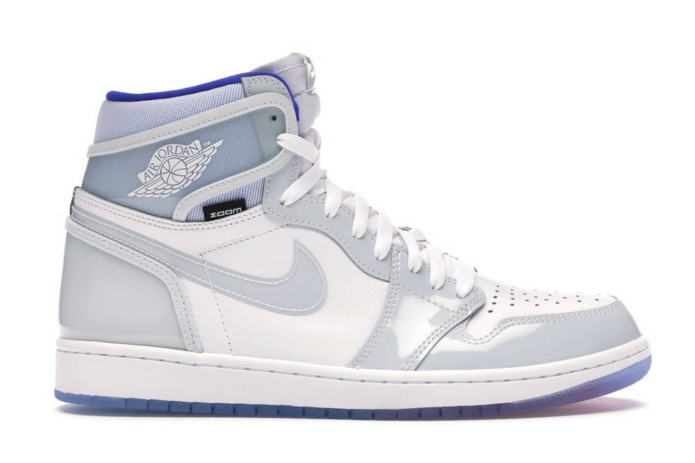 Jordan 1 High Zoom White Racer Blue