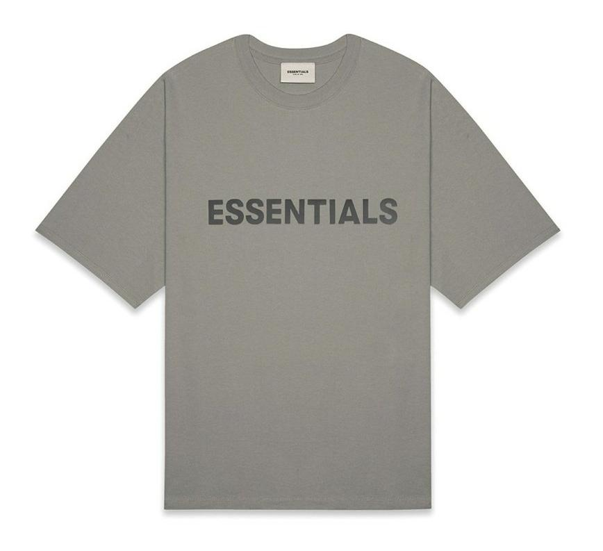 Essentials Black on Cement Tee
