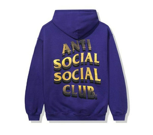 Anti Social Social Club 747K Hoodie Purple