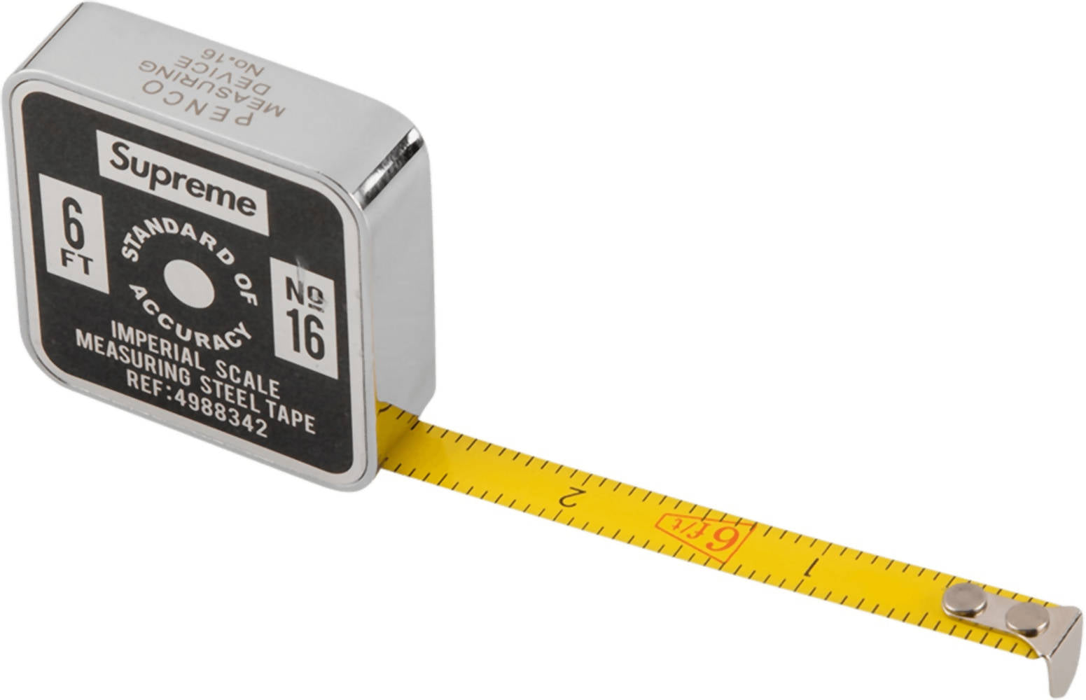 Supreme Penco Tape Measure (Imperial) Black