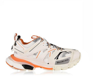 Balenciaga Track Trainer White Orange