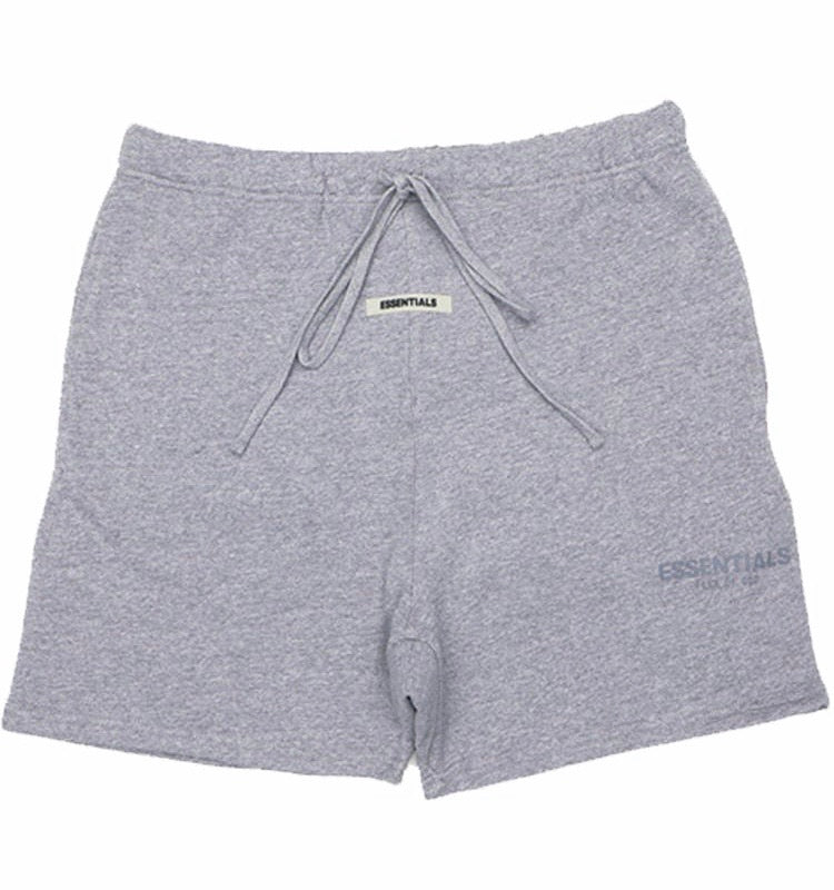 Essentials Heather Grey Shorts