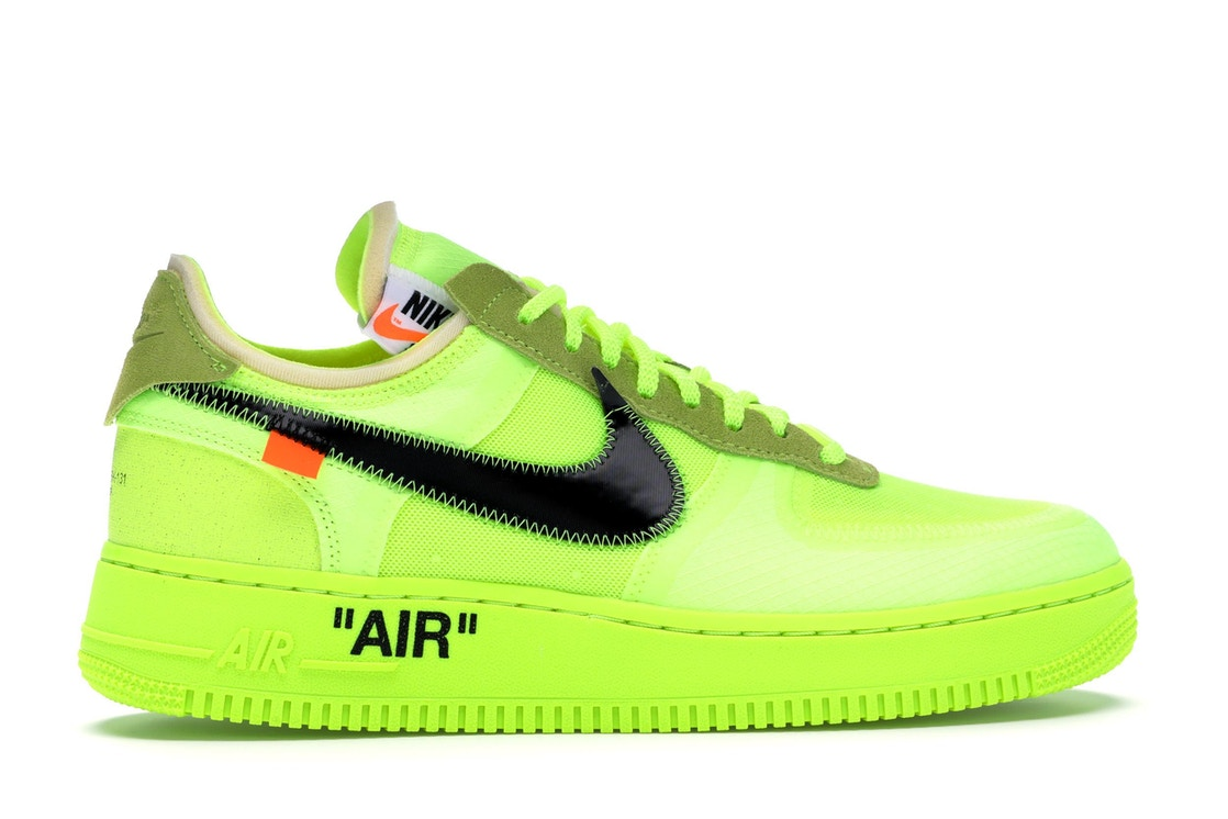 Nike Air Force 1 Low Off-White Volt