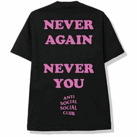 ASSC Never Again Black Tee