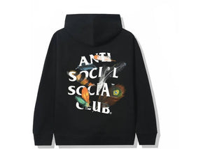 Anti Social Social Club Birdbath Hoodie Black
