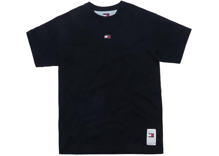 Kith x Tommy Hilfiger Mini Flag Tee Black