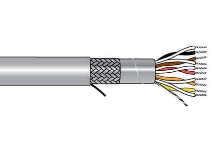 ALPHA WIRE 86304CY SL001 - Xtra-Guard-Performance-Cable, Xtra-Guard-Flex, 4 Conductor, 22 AWG, Foil SPIRAL, 300 V, PVC Jacket, SR-PVC Insulation, 0.231 Jacket Diameter, 0.04 Jacket Thickness, 19-34 Stranding, Continuous Flex Data - WAVE-AudioVideoElectric