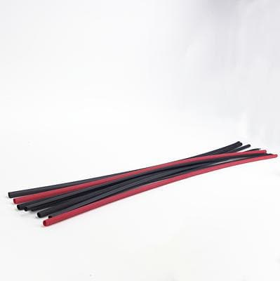 "3M Electronics VFP-3-4-6""-Black Heat Shrink Tubing and Sleeves 2:1 Thin Wall 3-4, 6"" Black, Pk - WAVE-AudioVideoElectric"