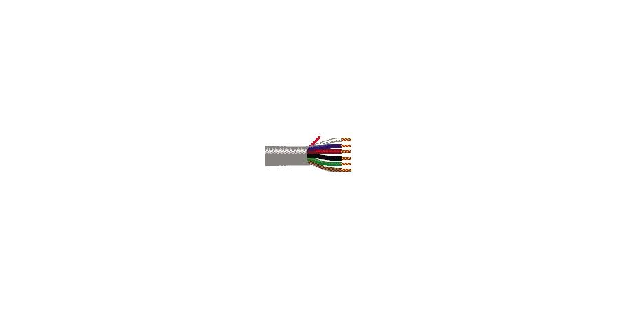 Belden Equal # 5304UE 81000 - Multi-Conductor - Commercial Applications 6 18 AWG PP FRPVC Gray - Price Per 1000 Feet - WAVE-AudioVideoElectric