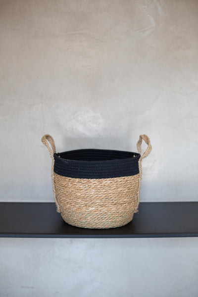 Basketly Black Rope Top Basket