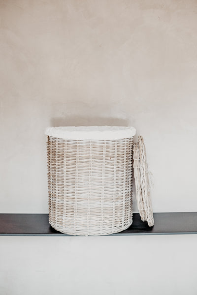 Extra Large Rattan Washing Basket