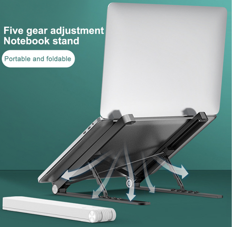 Adjustable Foldable Laptop Stand