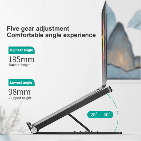 Adjustable Foldable Laptop Stand 3