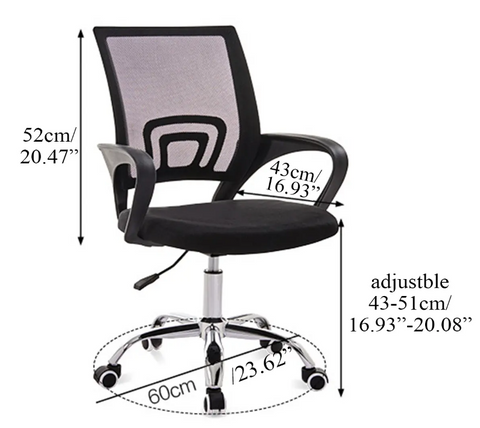 Executive Office Chair with Lumbar Support2