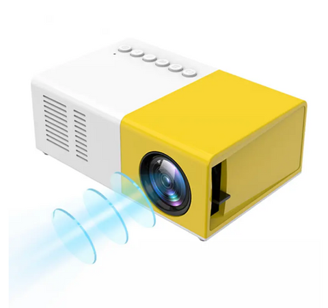Portable 1080P LCD Projector