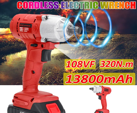 Cordless High Torque Electric Wrench Driver1
