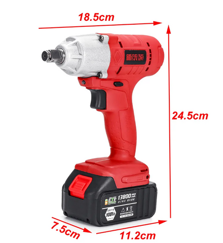 Cordless High Torque Electric Wrench Driver4