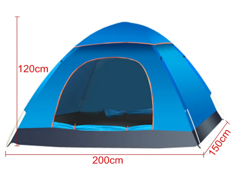 outdoor tent dimensions