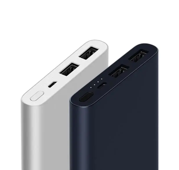 Power Bank Dual USB With Quick Charge 3.0 - 10000mAh